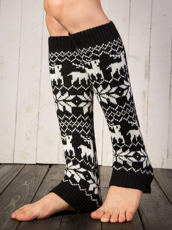 Bohemia Knitting 6 Colors Over Knee-high Long Leg Warmers