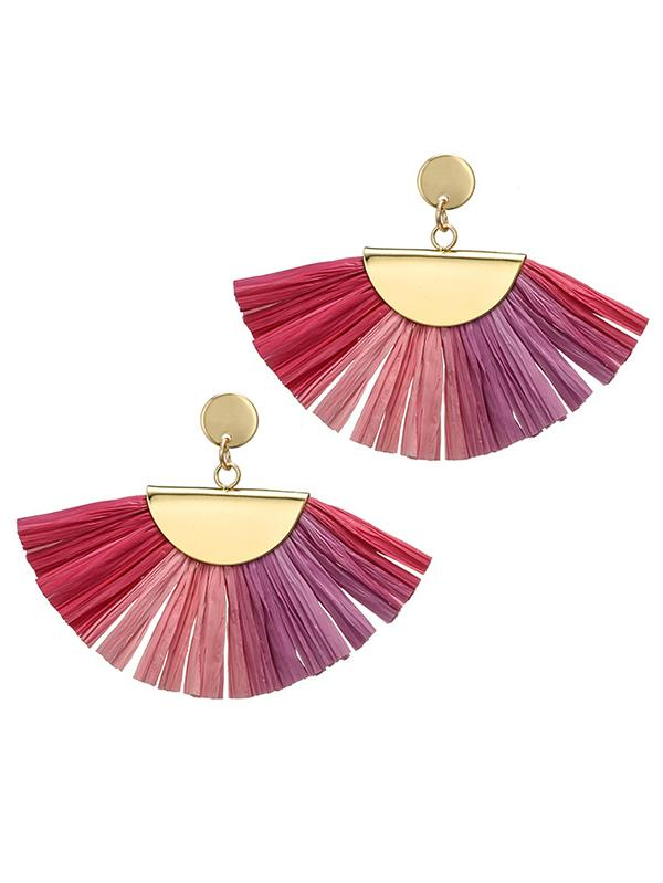 Vintage Ethnic-style Tassels Earrings