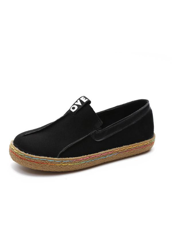 Tendon Flat Plus Size Casual Women's Shoes