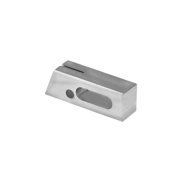 11023 - Saw Guide, Upper w/Plug Stainless Steel