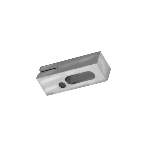 11038 - Saw Guide, Upper w/Plug Stainless Steel
