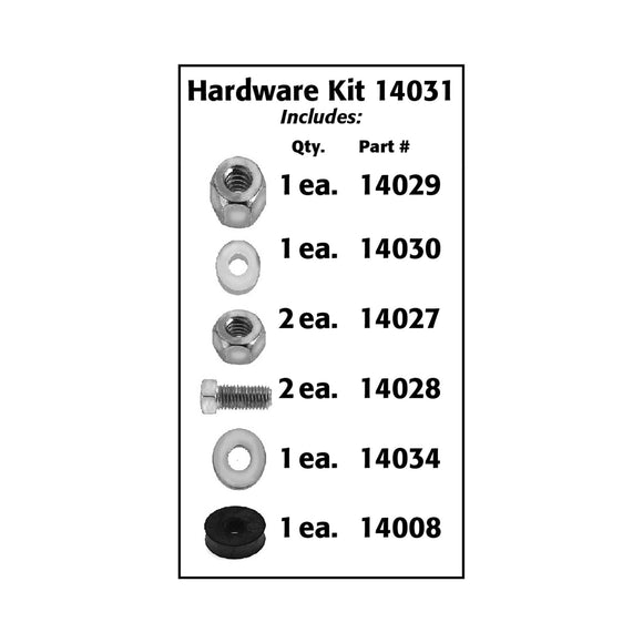 14031 - Hardware Kit (for Knock-out Arm)