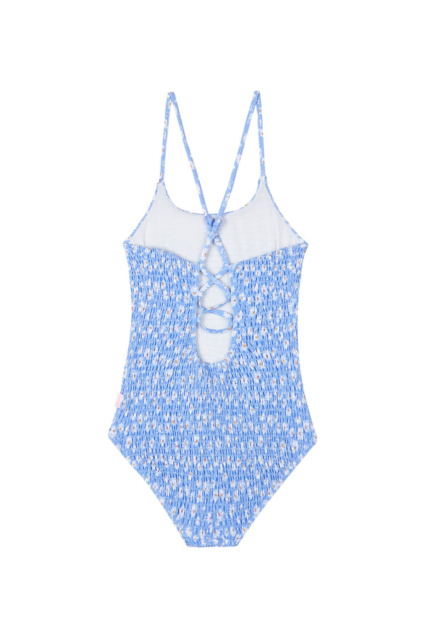 Pool Party Shirred Tank