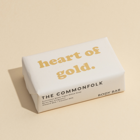 The Commonfolk Body Bar - Heart Of Gold - Byron Bay