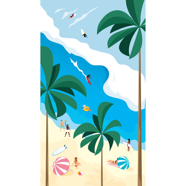 SomerSide Beach Daze Towel
