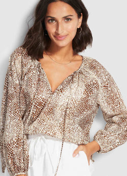 Seafolly Serpentine Boho Top
