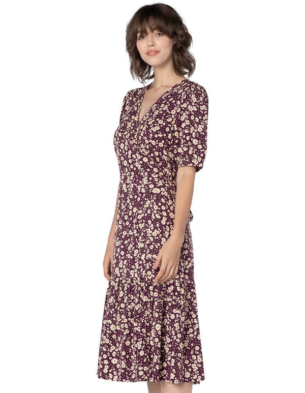Princess Highway Clementine Wrap Dress