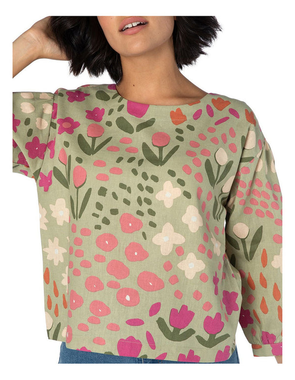 Princess Highway Paige Top - Green