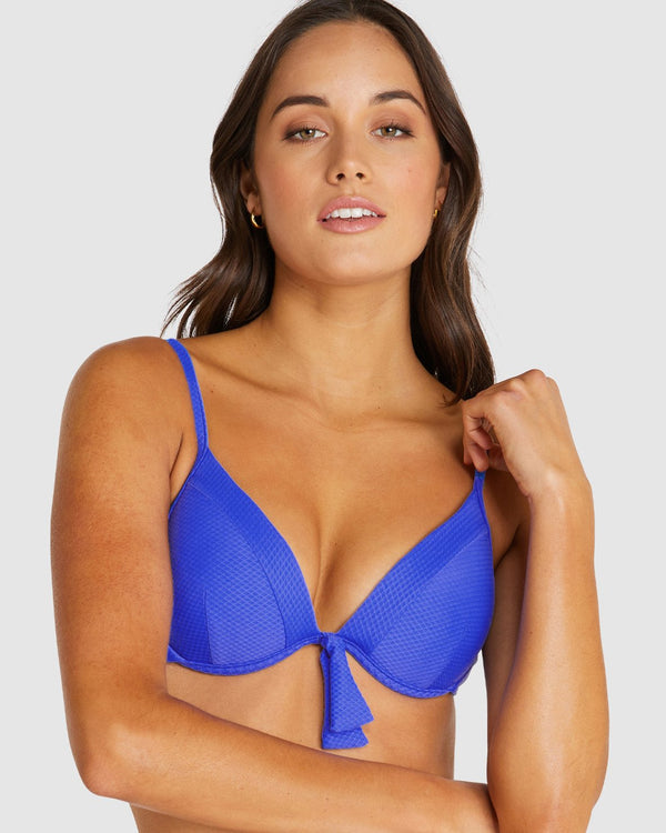 Rococco Booster Bra - Electric Blue