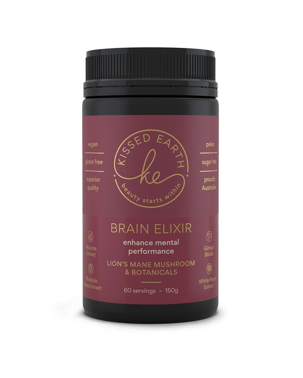 Kissed Earth BRAIN ELIXIR