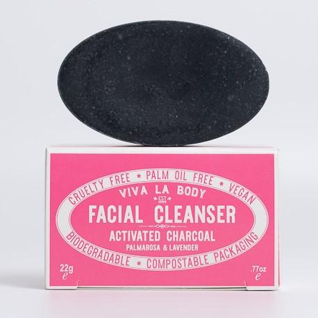 Viva Petite Facial Cleanser Activated Charcoal