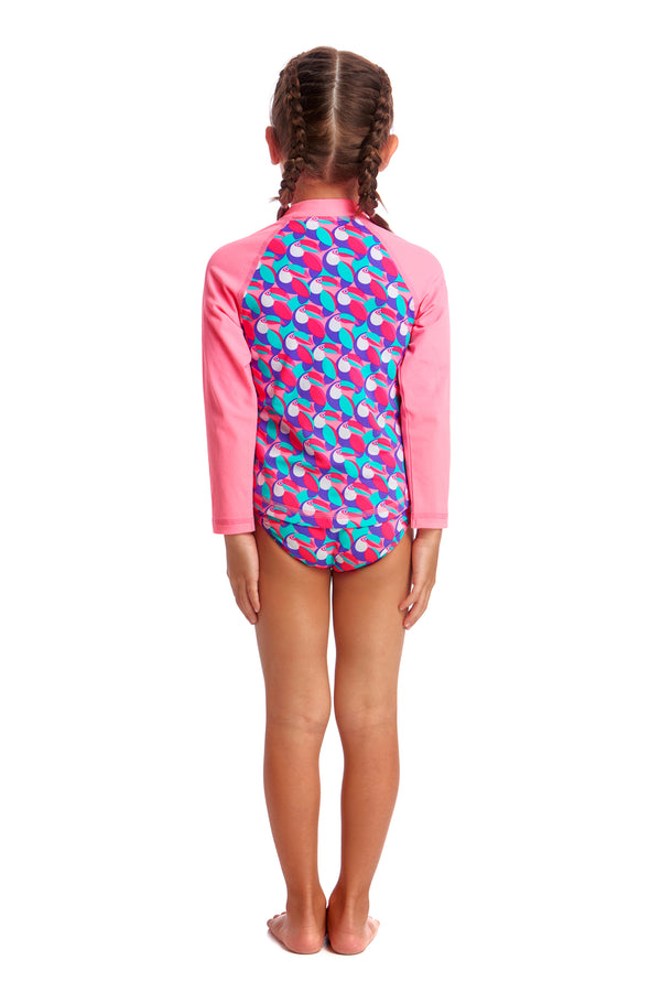 Funkita Toddler Eco Zippy Rash Vest - Tou Tou