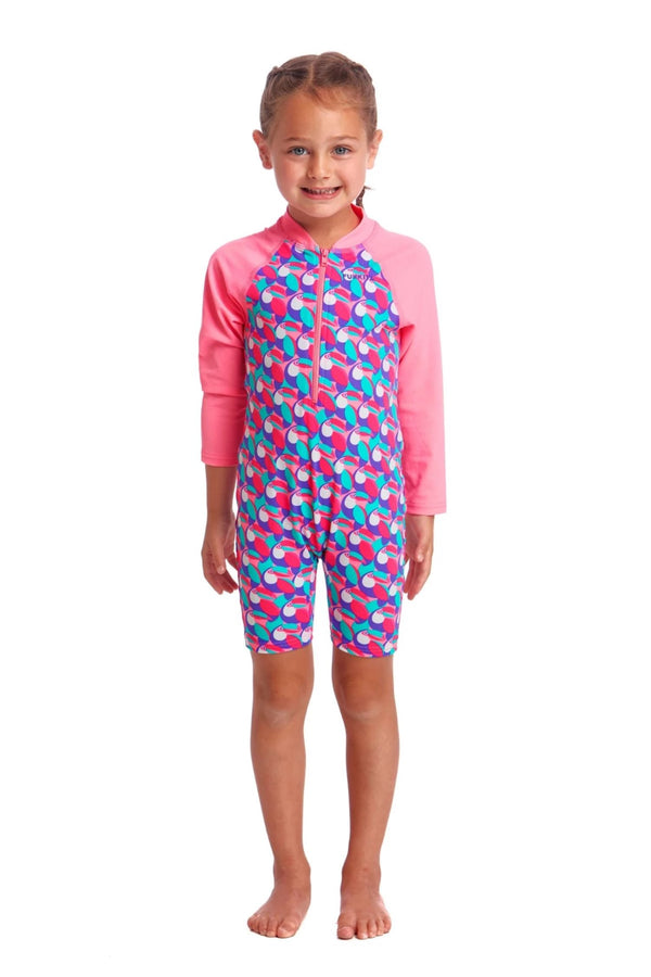 Funkita Toddler Girls Eco Go Jumpsuit One Piece - Tou Tou