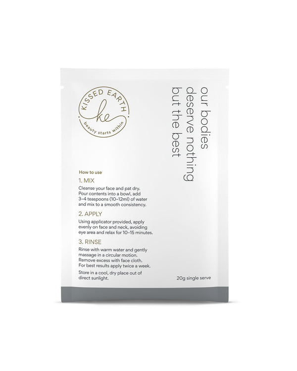 Kissed Earth PURIFY Collagen Face Mask - Single