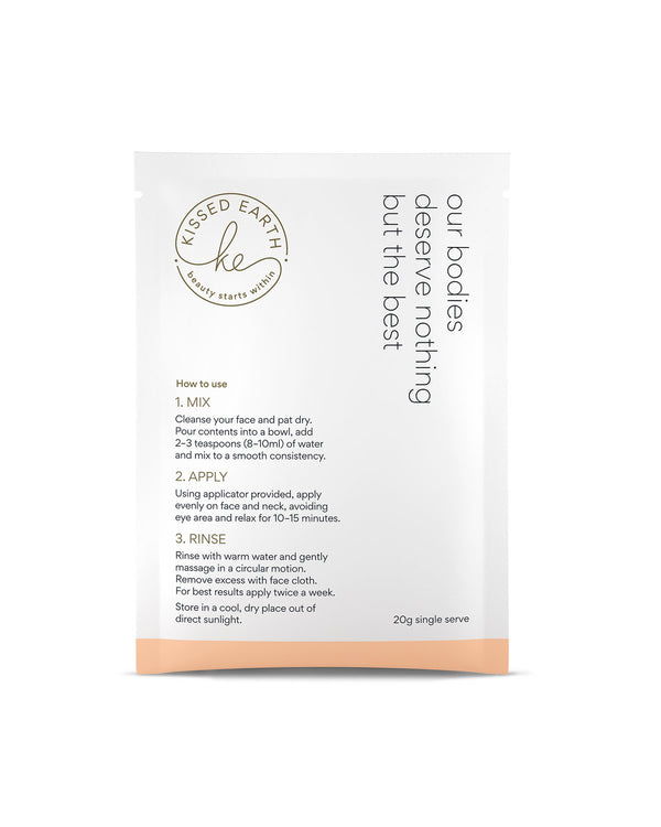 REJUVENATE Collagen Face Mask - Single