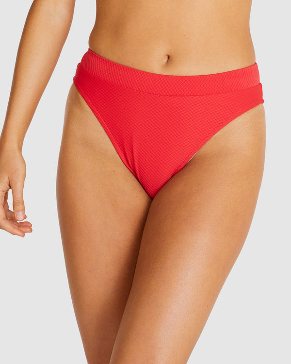 Rococco Rio High Waist - Machine Red