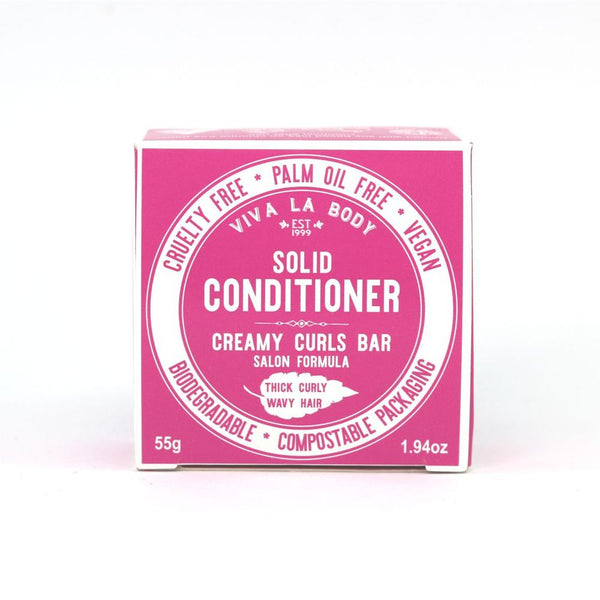 Viva Creamy Curls Solid Conditioner Bar