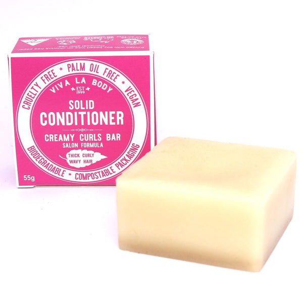 Viva Solid Conditioner Bar Creamy Curls