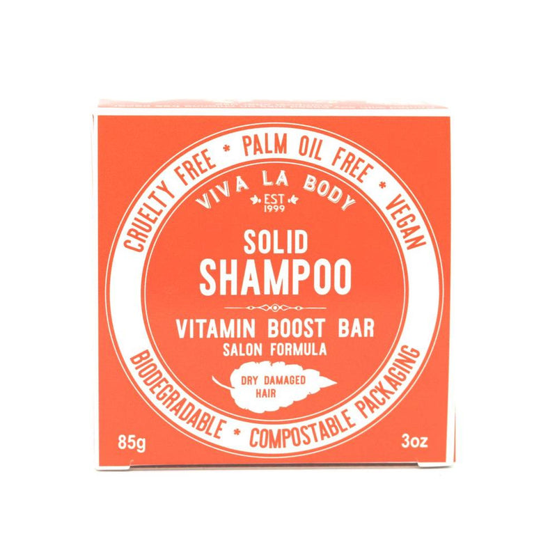 Viva Vitamin Boost Solid Shampoo Bar