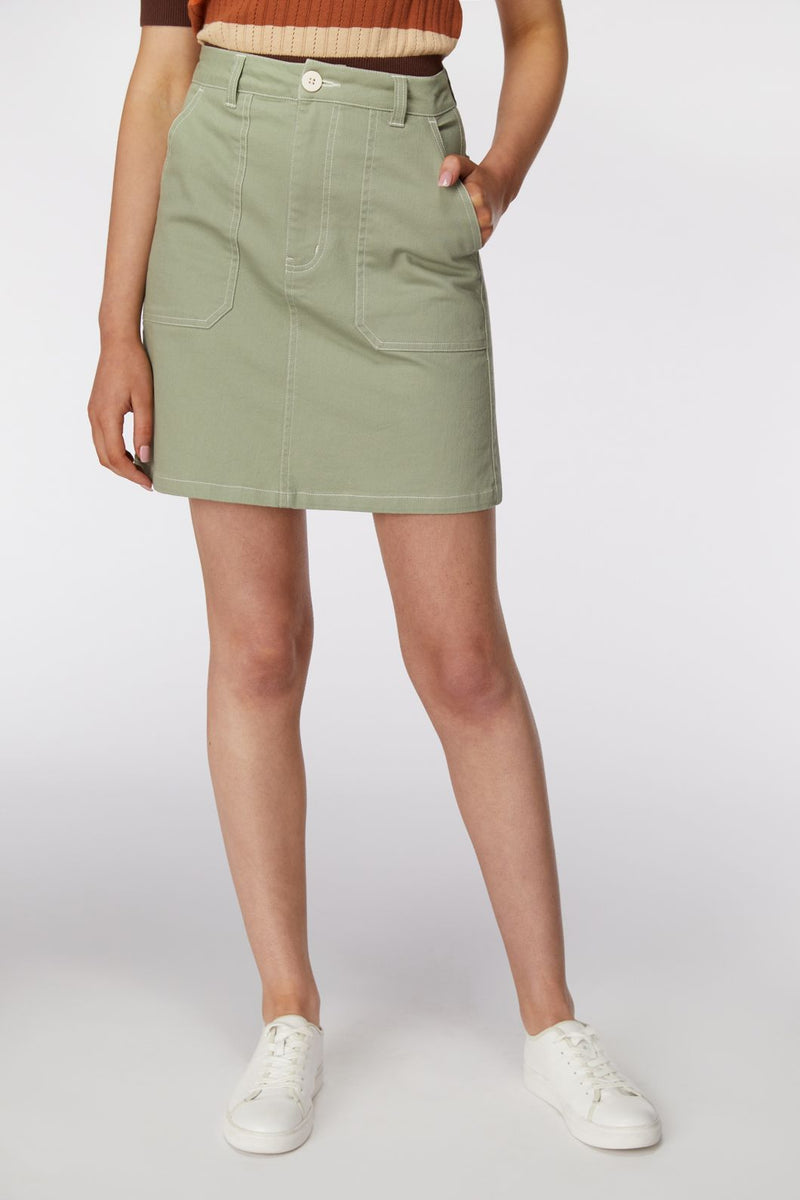 Princess Highway Angie Skirt - Sage