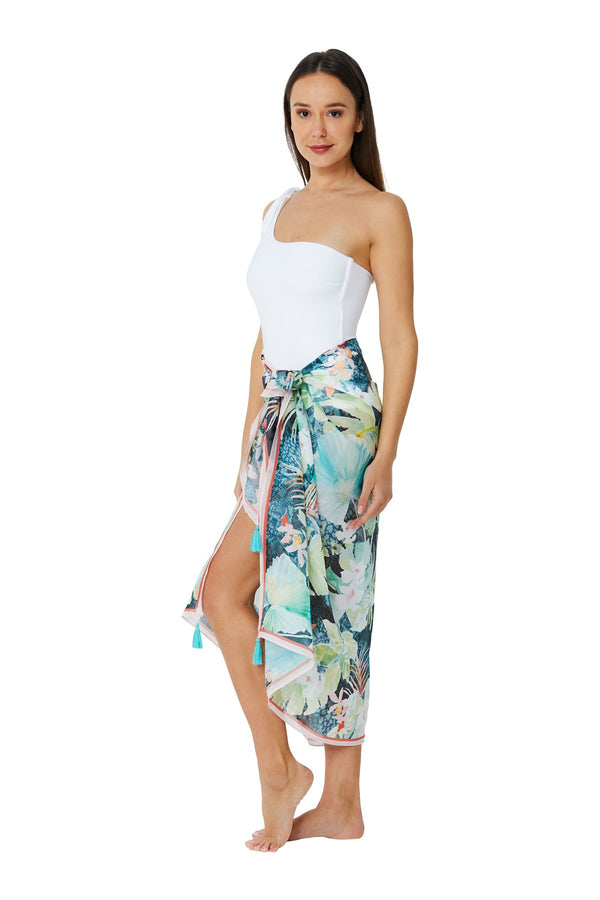 Monte & Lou Vacation Sarong - Lime