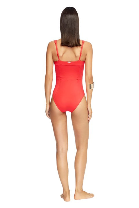 Jets Jetset Square Neck One Piece