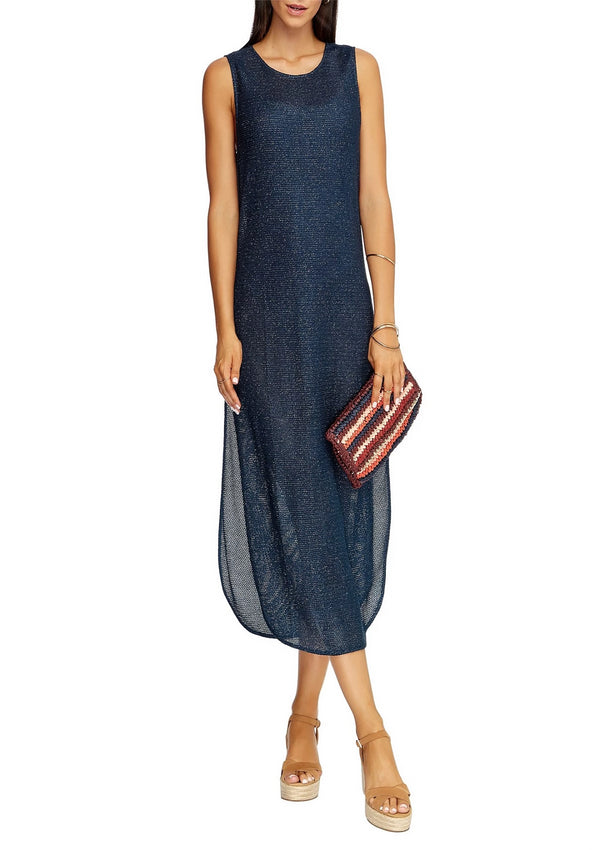 Jets Mirage Tank Maxi Dress - Pacific