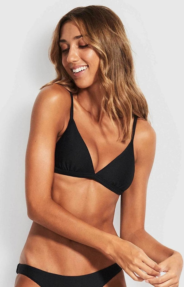 Seafolly Essentials Fixed Tri Bra