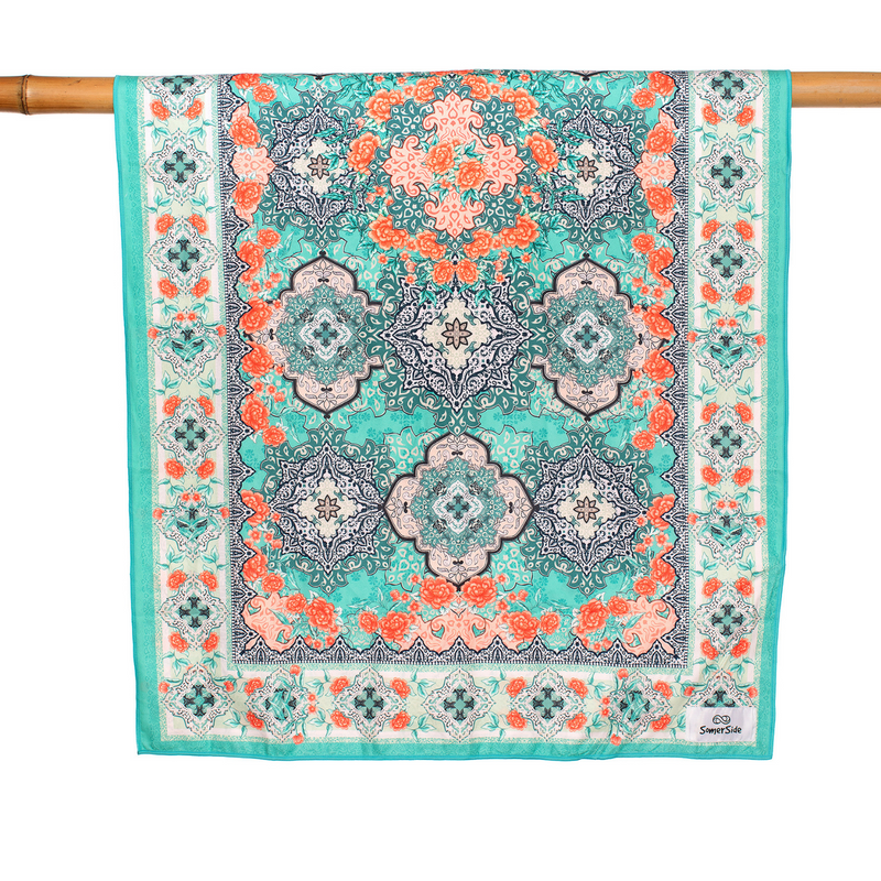 SomerSide Moroccan Mint Towel