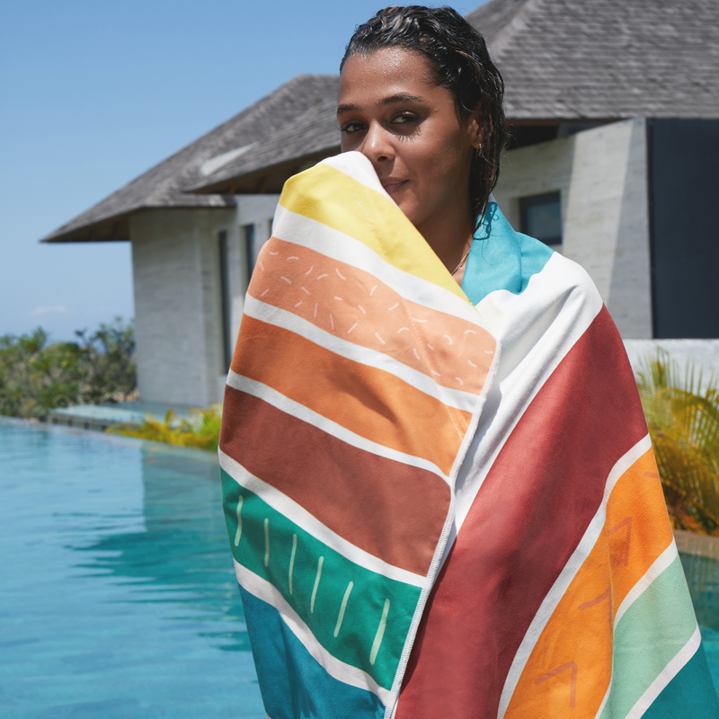 SomerSide Rainbow Towel