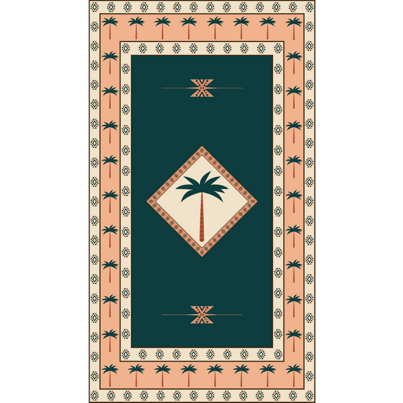 SomerSide Desert Palms Towel