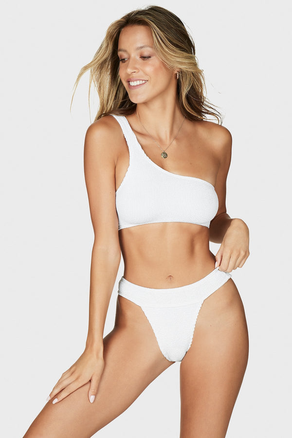 BOUND The Storm Bikini Pant - Optic White