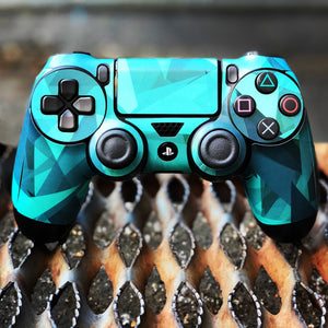 PS4 Controller Gem Stone Tiffany Decal Kit