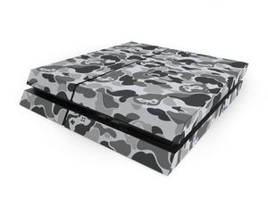 Sony PS4 Grey Game Camo Decal Skin Kit
