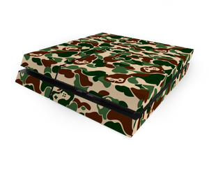 Sony PS4 Khaki Game Camo Decal Skin Kit