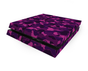 Sony PS4 Purple Game Camo Decal Skin Kit