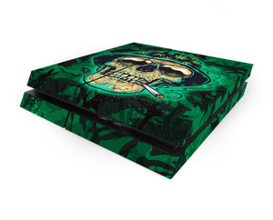 Sony PS4 Canna Skull Decal Skin Kit