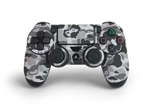 PS4 Controller Grey Game Camo Skin Decal Kit
