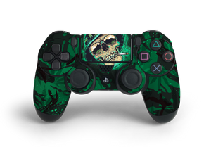 PS4 Controller Canna Skull Decal Kit