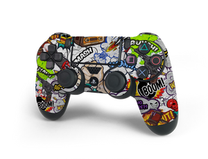 PS4 Controller Comic Decal Kit