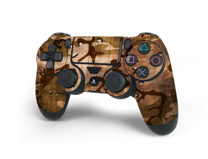 PS4 Controller Desert Camo Decal Kit