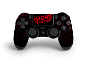 PS4 Controller Finish Him Decal Kit
