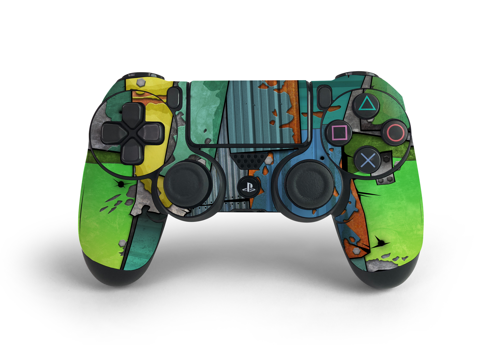 PS4 Controller Fort Metal Decal Kit