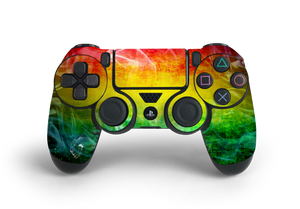 PS4 Controller Rasta Decal Kit