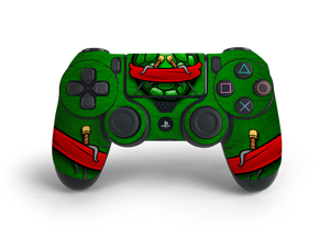 PS4 Controller Turtle Time Raph Decal Kit