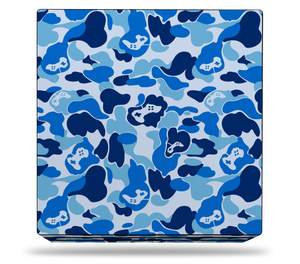 Sony PS4 Pro Blue Game Camo Skin