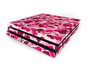 Sony PS4 Pro Pink Game Camo Skin