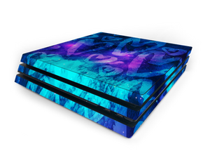 Sony PS4 Pro Space Love Skin