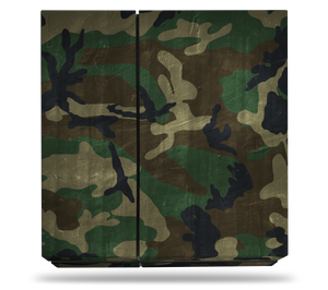 Sony PS4 Woodland Camo Decal Skin Kit