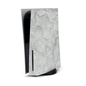 PLAYSTATION 5 WHITE TOPO SKIN